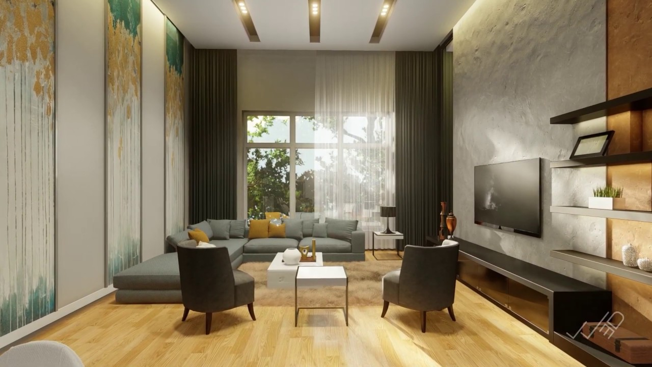 Interior Flat - 3D animation