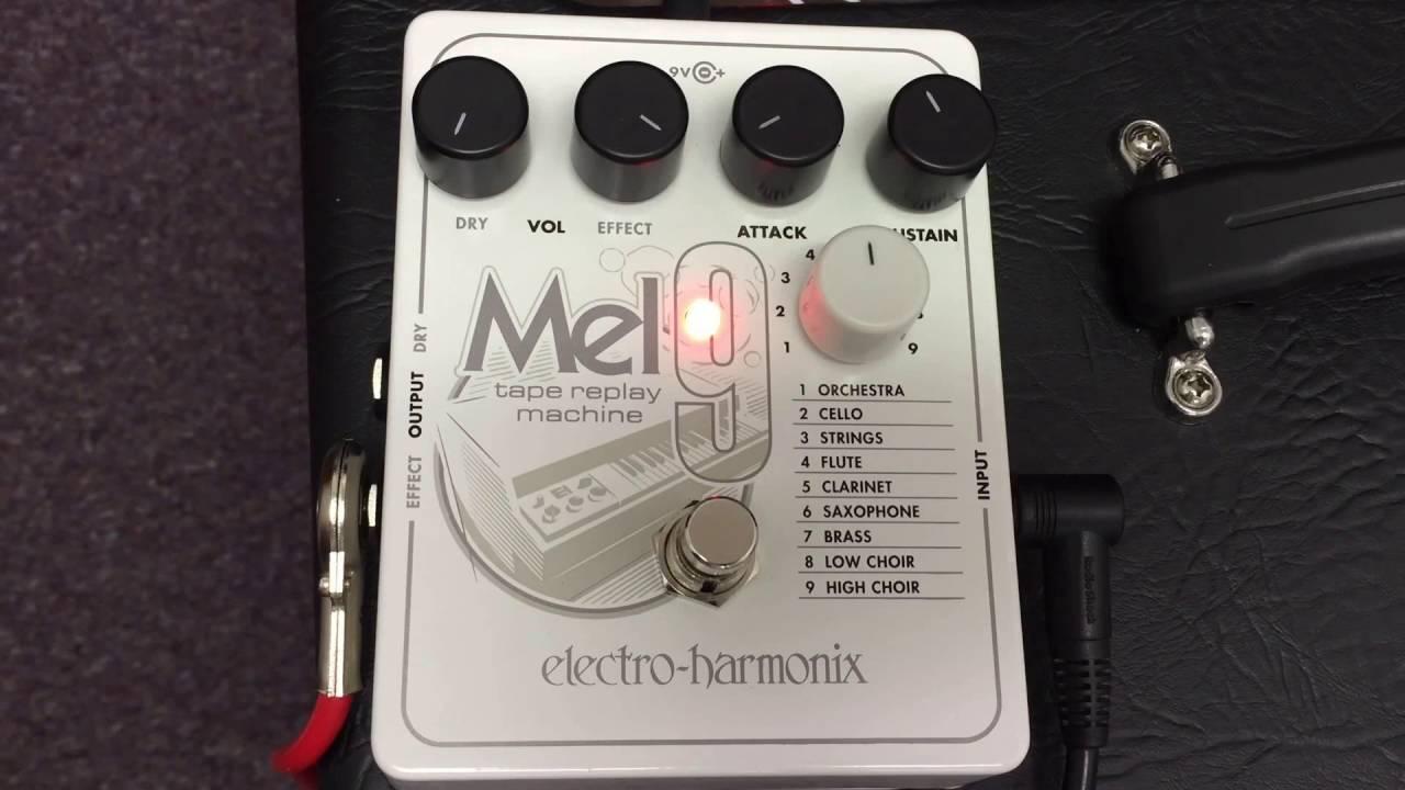 Electro Harmonix Mel9 Tape Replay Machine Mellotron Emulator