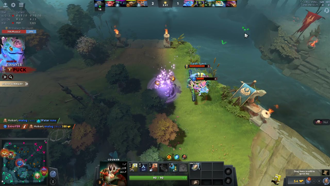 Dropping Item Can Cost Your Life   Dota 2