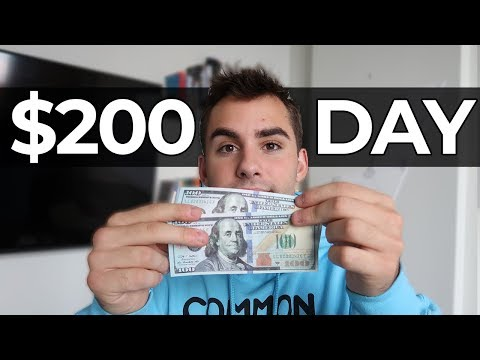 How To Make $200 PER DAY With NO Money To Start! (Easiest Way To Make Money Online 2020)