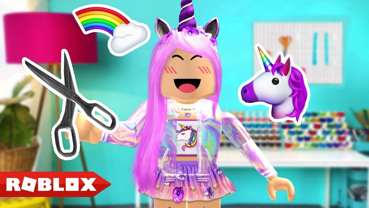 How I Made A Unicorn Outfit Roblox Youtube