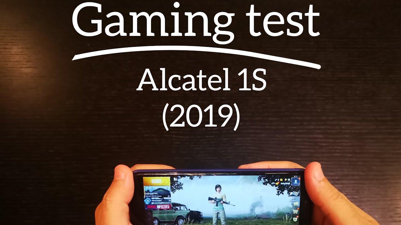 Alcatel 1S - gaming test