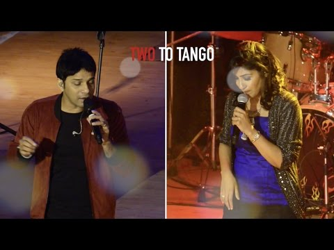 Two to tango: Karthik and Shweta Mohan