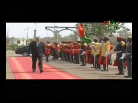 Deux diplomates au palais de Kosyam pour présenter leurs lettres de créance au Président du Faso