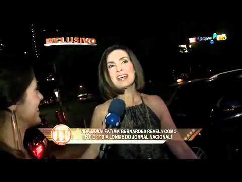 RedeTV! Em rede com você   Bonner e Fátima Bernardes fa.mov