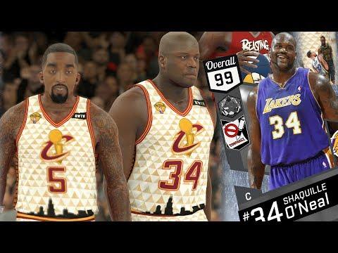 NBA 2K17 My Team - No Halftime Report! FA Shaq Cavs Theme! PS4 Pro 4K