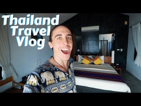 Krabi Thailand Travel Vlog  – Ko Klang Village – Islanda Hideaway Resort – Southeast Asia