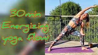 Morning Yoga: Energising 30-minute yoga flow