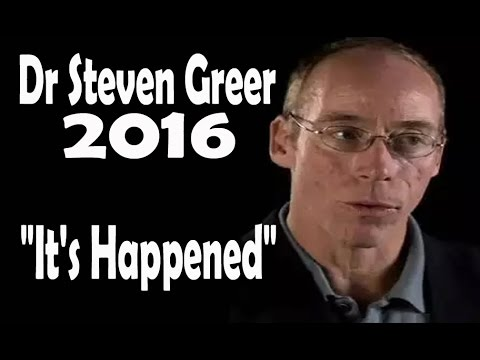 Dr Steven Greer 2016 (It's Happened) *Genre UFO & Alien*