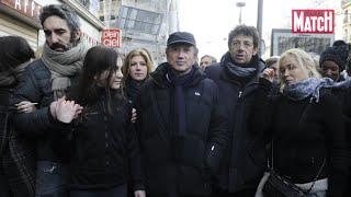 Les célébrités battent le pavé pour Charlie Hebdo