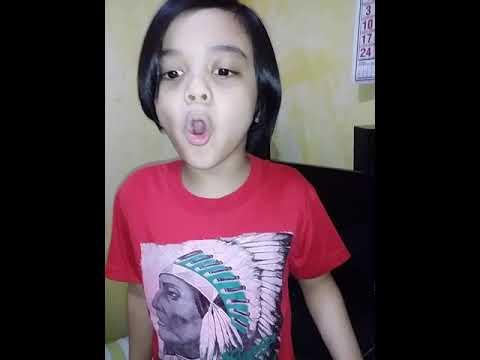 Operatic Singing (O MIO BABBINO CARO) cover by Bourne Luna ( 7 years old )