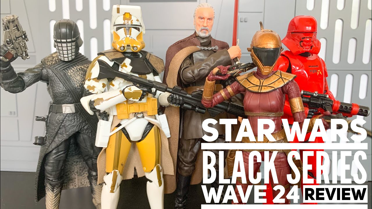 Star Wars Black Series Wave 24 First new wave of 2020 ...