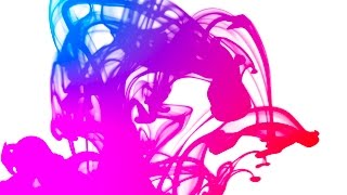 Free Stock Footage | Blue and Pink Ink Flows | Free HD Download