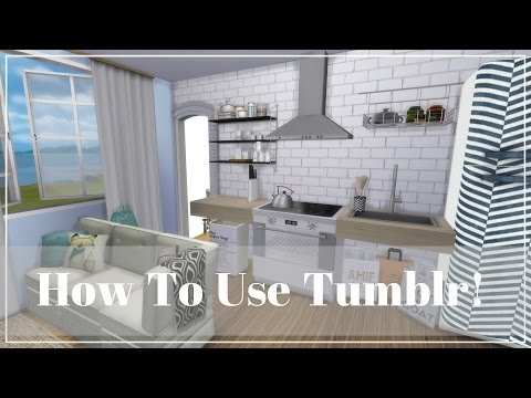 The Sims 4 | How To Find My Custom Content On Tumblr !!!