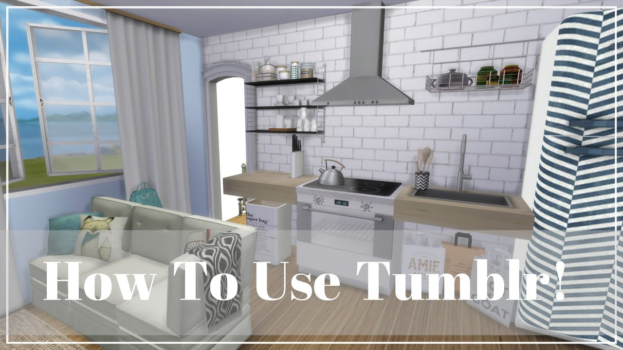 The Sims 4 How To Find My Custom Content On Tumblr