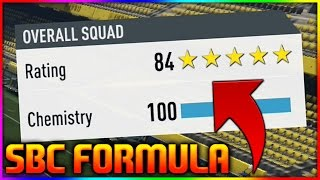 FIFA 17 | NEW 84 RATED SBC FORMULA (FIFA 17 HOW TO GET A 84 RATED SQUAD BUILDER CHALLENGE *84 SBC*)