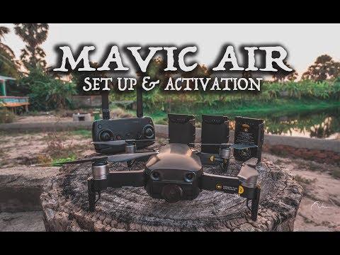 DJI Mavic Air - Beginner's Guide first time.