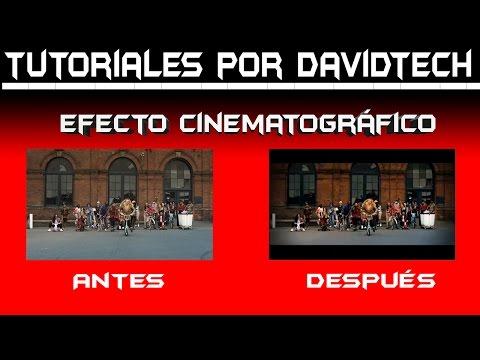 Adobe Premiere Pro - Efecto Cinematográfico