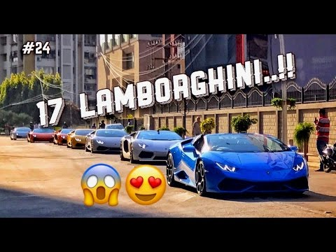 Official lambo run event.. Bangalore - Hassan | Lamborghini in India |