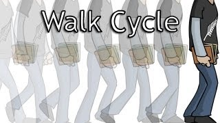 Making a Walk Cycle (Speed Animation Tutorial)