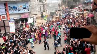T20 flash mob tangail 13-3-2014