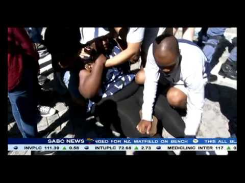 Frank Chikane's son arrested outside Parliament during protest