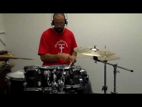 Hip hop drumming dance track (pocket playing) #mymusic