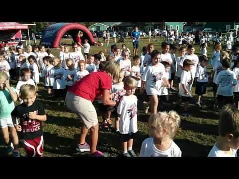 Jaron in Charter Day School Fun Run