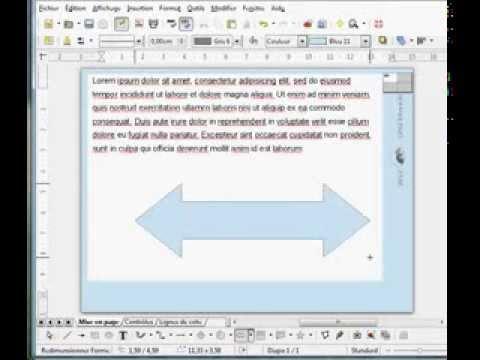 Libre Office Draw Impression Multiple Partir Dun Cadre Unique