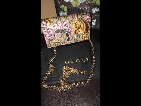 6d9bd0ccfc5 Gucci reveal   Gucci bengal mini bag - YouTube