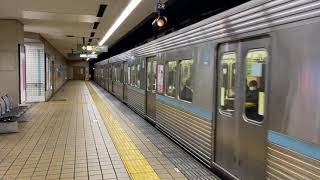 (実車) 名古屋市営地下鉄 鶴舞線 3000形 浄心発車