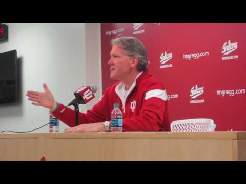 Indiana Director of Athletics Fred Glass' announces Tom Crean's firing (Part 3 of 4)