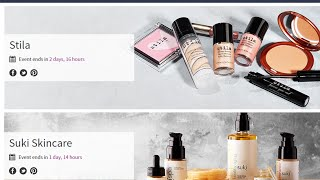 DEAL ALERT: SUKI & Stila on Hautelook