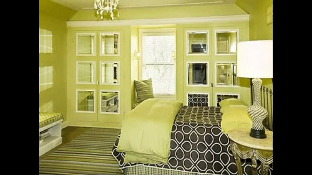 Best Modern Green Bedroom Interior Design U0026 Decoration!!! Make Your Own Room  Better!! Part 64