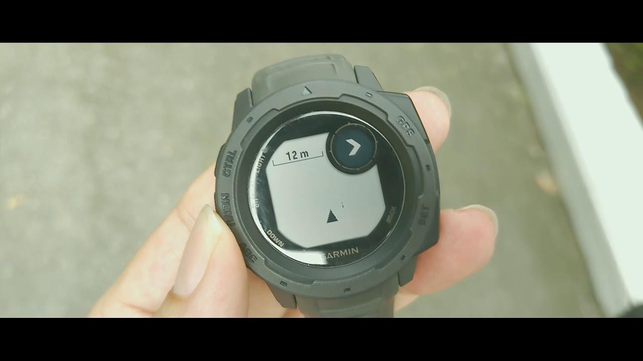 เทคนิคการใช้งาน Garmin Instinct - การวัดพื้นที่ - YouTube