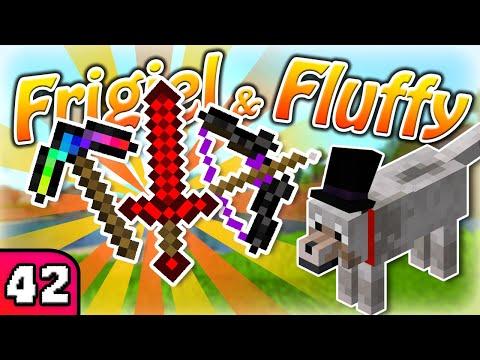 FRIGIEL & FLUFFY : J'améliore mon stuff ! | Minecraft - S7 Ep.42