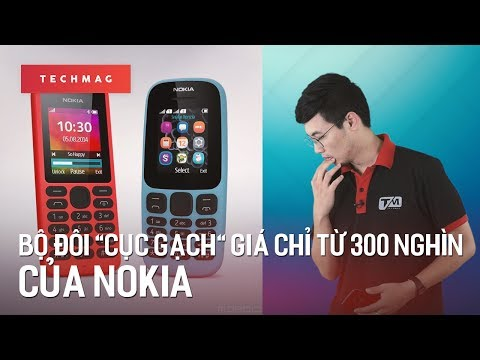 """TechMenu: Bộ đôi """"cục gạch"""" mới toanh, giá chỉ từ 300 nghìn của Nokia"""