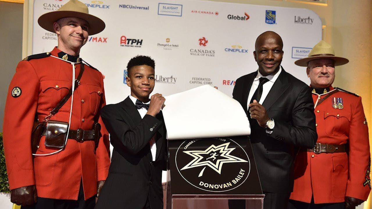 Donovan Bailey 'humbled' by Walk of Fame honour