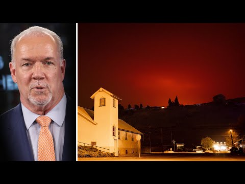 'Weather forecasts are grim': Horgan on wildfires | State of emergency declared in B.C.