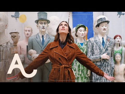 Alexa Chung at the Summer Exhibition | ALEXACHUNG