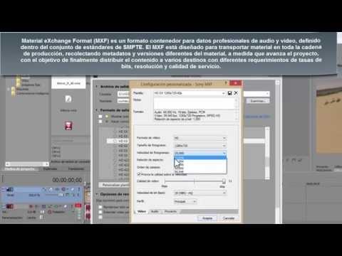 SONY VEGAS 13 - Parametros de renderizado de alta calidad para DVD y Bluray grabacion DVD y Bluray