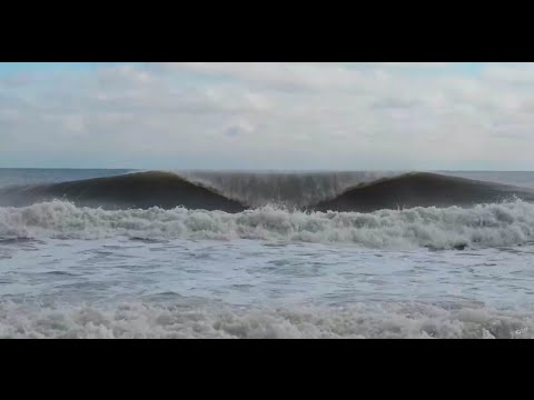 Surfing Barrels in New Jersey - Nub TV