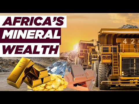 Top 10 African Countries with the MOST Mineral Wealth | Richest African Countries