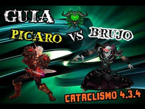 Wow Guia Picaro Vs Brujo Español [Parche 4.3.4] - Sutileza Ddantee HD