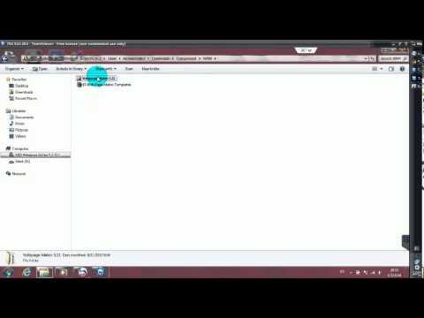 CaRz วิธีการ ดาวโหลด+วิธีการลงโปรแกรมWeb Page Makerแบบ ถาวร