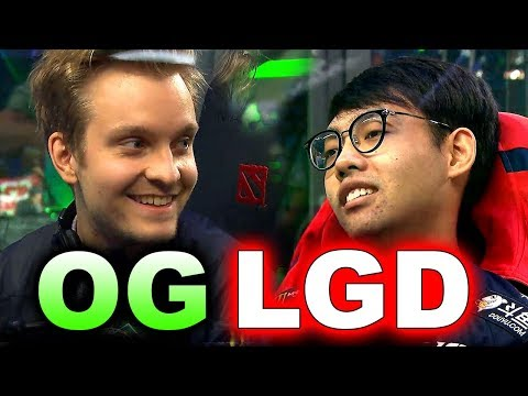 OG vs PSG.LGD - INCREDIBLE FINAL GAMES 1,2,3 #TI8 - THE INTERNATIONAL 2018 DOTA 2