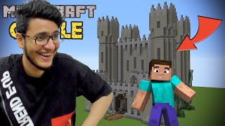 Rescuing the Princess from Takeshi's Castle in Minecraft