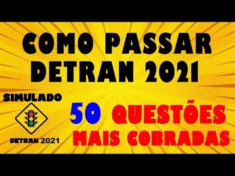 Download DETRAN 2021: COMO PASSAR,  Simulado 50 questões mais cobradas na TEÓRICA, Auto + Moto