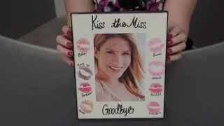 Gift Idea for the Bride - Kiss Frame