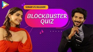 SENSATIONAL: Dulquer \u0026 Sonam Take EPIC Quiz On Films Based On Books | The Zoya Factor